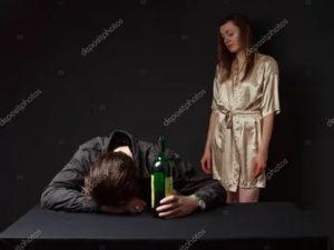 Боюсь пьяного мужа