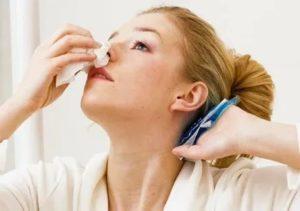 Сухость в носу во время беременности