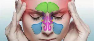 Заложенность носа! И боль во лбу