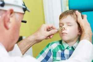 Заложен нос у ребенка 10 месяцев, соплей нет