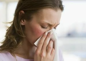 Заложеность носа и высокая температура