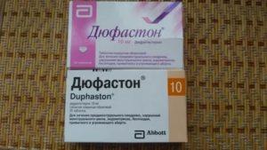 Длительные месячные и лечение дюфастоном