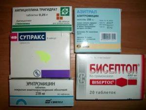 Простуда во время приема антибиотиков