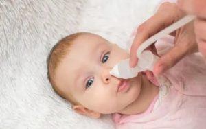 Насморк у ребенка в 1,5 месяца
