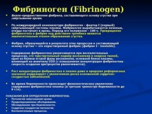 Повышен фибриноген