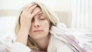 После сна плохое самочувствие