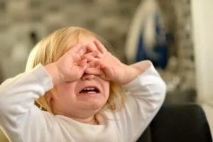 Детский сад и слезы(истерика)