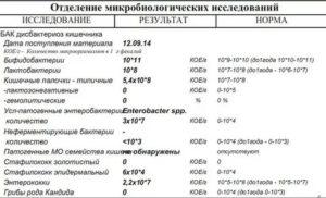 Staphylococcus aureus 10^2 кое/мл