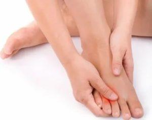 Жжение стоп ног