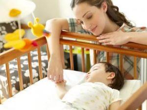 Плохой сон ребёнка 7 месяцев