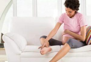 Боли в ноге при беременности
