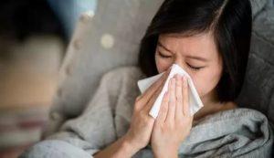 Заложен нос 3 недели и сухой кашель