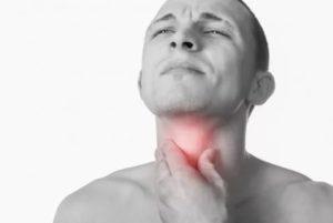 Чувство сжатия горла