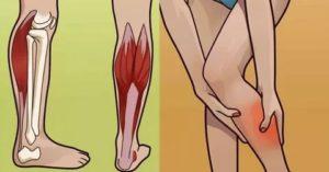 Как снять дрожь в правой ноге