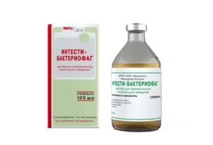 Дозировка бактериофага интести у детей