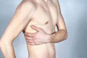 Вибрация в правой стороне груди