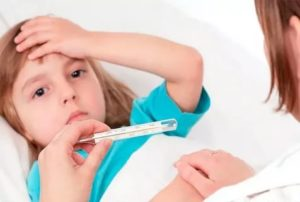 Высокая температура у ребенка