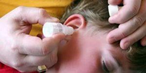 Боль в ухе при закапывании