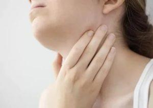 Больль в горле, пигментация