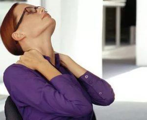 Проблемы с дыханием и напряжением мышц шеи