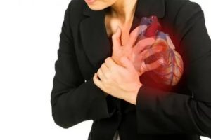Жжение в груди, онемение левой руки.