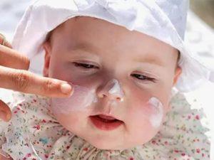 Чувствительная кожа у ребенка