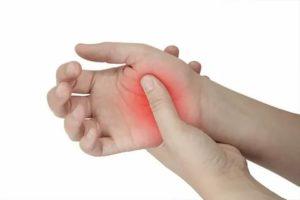 Боль в пальце при нажатии