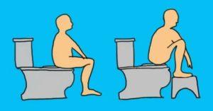 Не сходить в туалет. Даже с помощь слабительных и клизмы