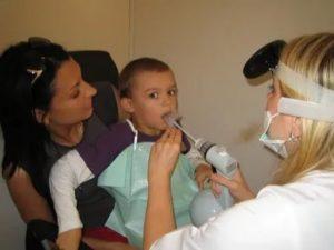 Криоорошение носа и горла