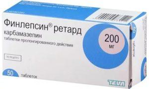 Последствия отмены препарата Финлепсин Ретард