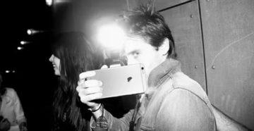 Вспышка фотоаппарата в глаза