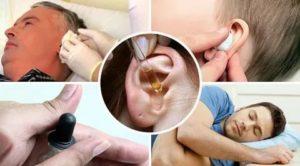 Давление в ухе после высмаркивания