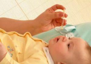 Насморк у ребенка 7 месяцев