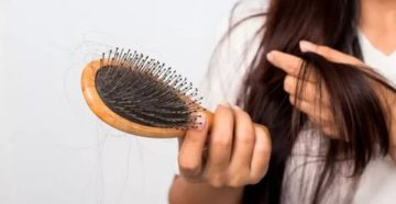 Выпадение волос, потеря веса