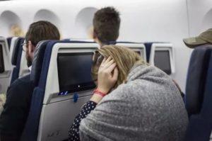 Боль в ухе при посадке самолёта