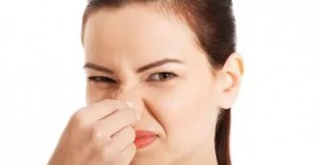 Запах мочи в носу