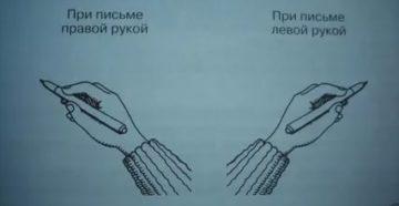 Помогите решить проблему с рукой при письме